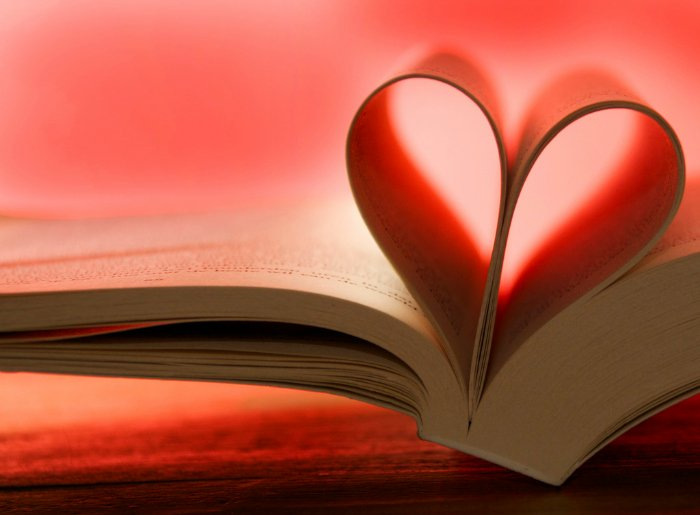 Book-with-Pages-Bent-to-Form-a-Heart
